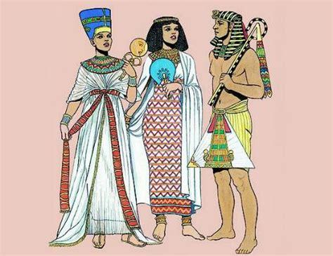 imagenes vestimenta egipcia antigua la moda en el antiguo egipto