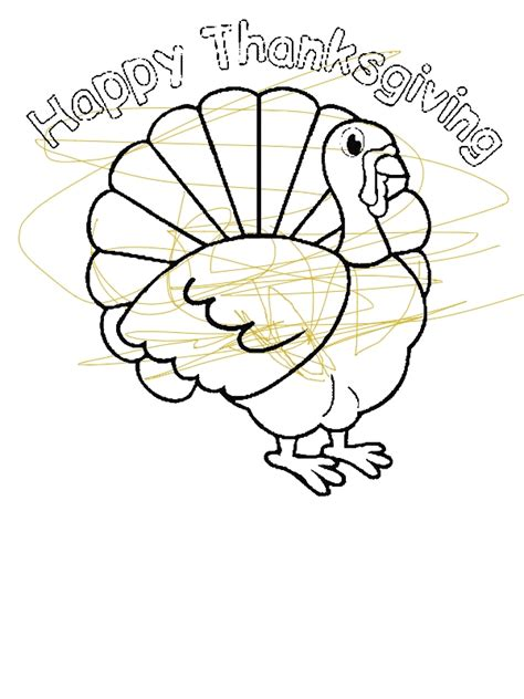turkey trot coloring page thanksgiving day turkey trot cincinnati coloring page