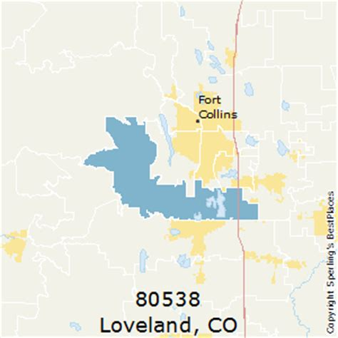 loveland colorado map best places to live in loveland zip 80538 colorado