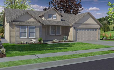 the snowbrush home plan oregon washington idaho