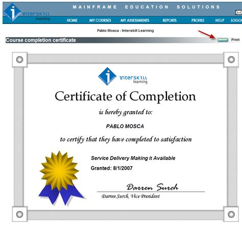 best certificate courses mainframe by interskill learning ibm