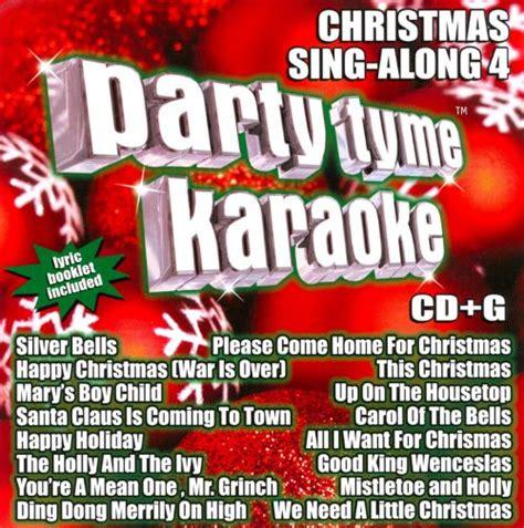 party tyme karaoke christmas christmas decore