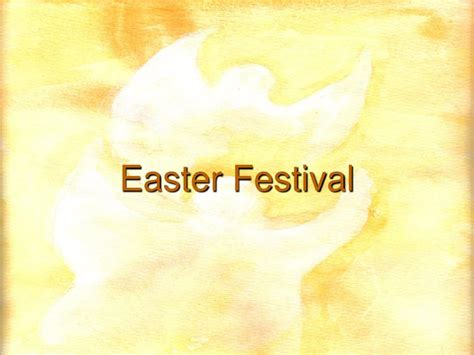 is easter a festival ppt easter festival and aries moon powerpoint