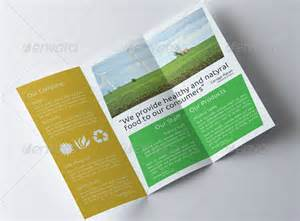 Agriculture Brochure Templates by 8 Wonderful Agriculture Brochure Templates For Designers