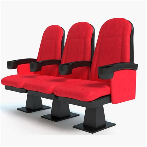 Auditorium Chair 3d Model Free by 3d Model Theater Seats