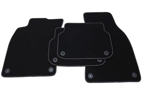 winter floor mats fits for audi a6 4f 2006 2011 black l h