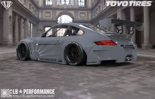 Porsche And Lamborghini Porsche 911 Widebody And Lamborghini Aventador By Liberty