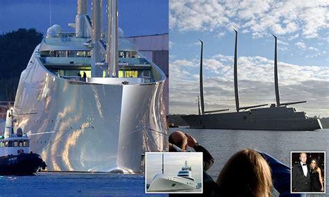 russisch zeiljacht russian billionaire andrey igorevich melnichenko s yacht