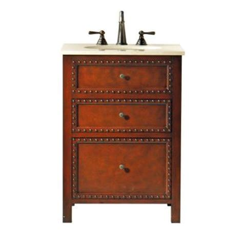 Home Depot 24 Vanity by Home Decorators Collection Harlow 24 In W Vanity In