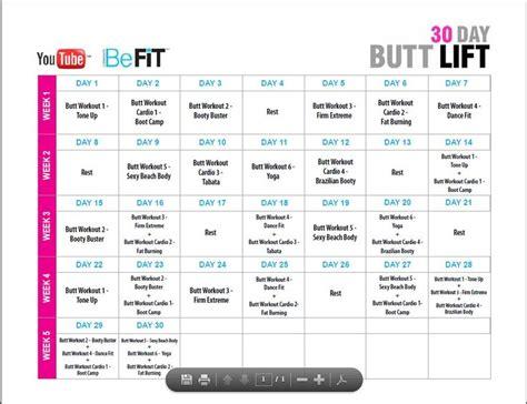 Lift Calendar 30 Day Lift Calendar Workout