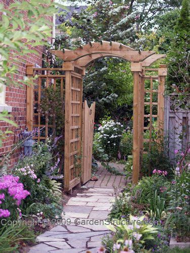 Garden Arbor With Gate For Sale Arbors Arbor Gate And Gates On