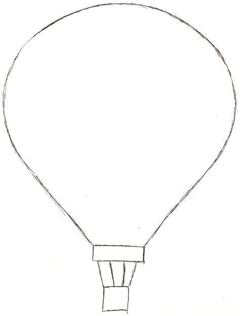 hot air balloon template cyberuse