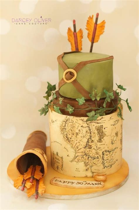 lord   rings inspired cakes  blow  mind