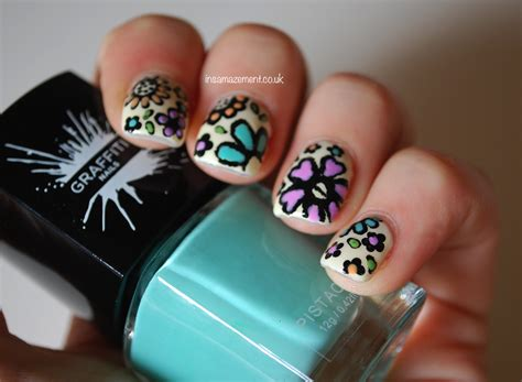 detailed nail designs in samazement detailed floral nail art tutorial