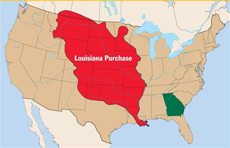 louisiana purchase interactive map territory west of mississippi riverscountry of origin f