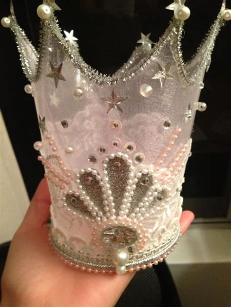 glinda the witch crown template glittering glinda crown ittybittyindi designs madeit