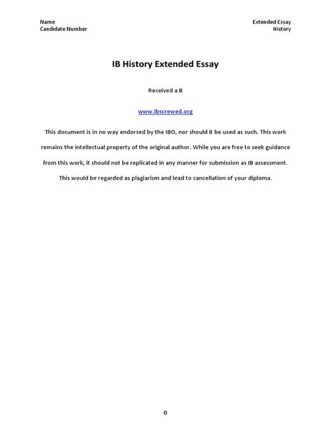 format extended essay ib history extended essay guidelines docoments ojazlink