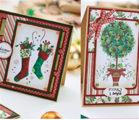 traditional christmas cards free project free card