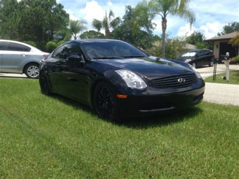 infiniti g35 stats find used 2006 infiniti g35 coupe in port florida