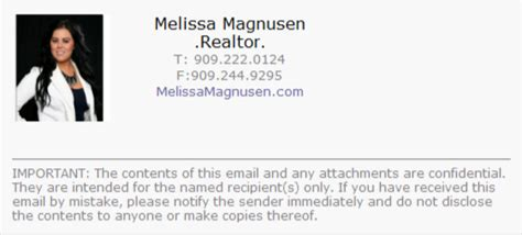Realtors Email Signature Category Professional Branding Center Real Estate Email Signature Templates