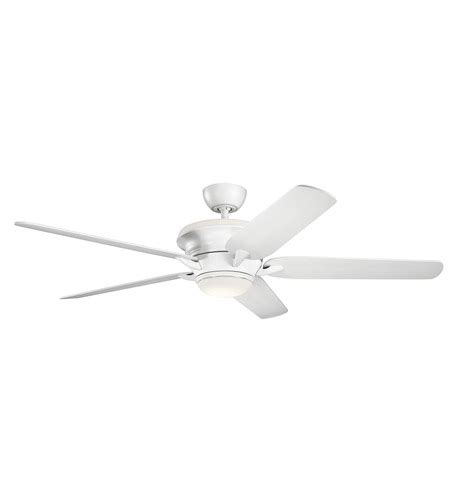 60 Inch White Ceiling Fan by Kichler 300025mwh Pino 60 Inch Matte White Ceiling Fan