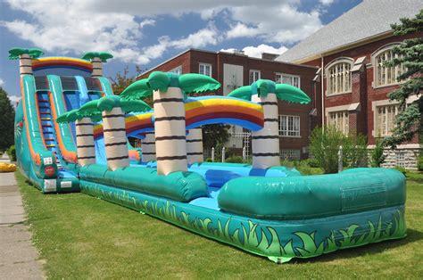 big bouncy houses water slide rentals in dallas jump city