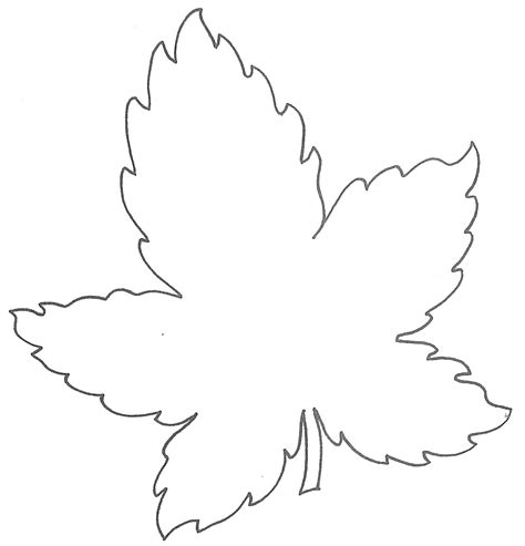 free leaf template glenda s world leaf templates