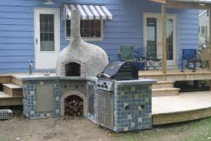 build a brick oven backyard 15 wood fired pizza bread oven plans for outdoors backing