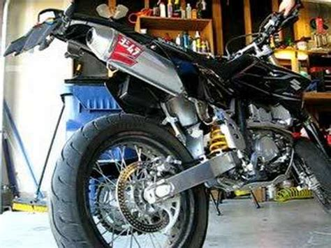 Suzuki Drz400sm Exhaust Dr Z400sm With Yosh Dual Exhaust Doovi