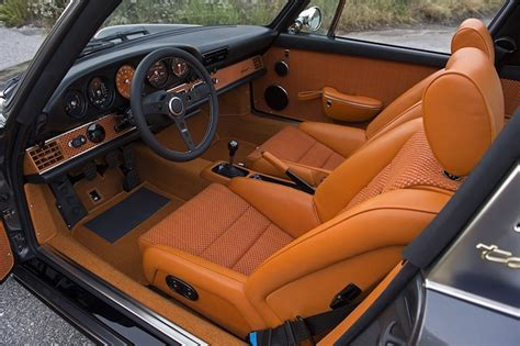 porsche singer black image gallery singer 911 interior