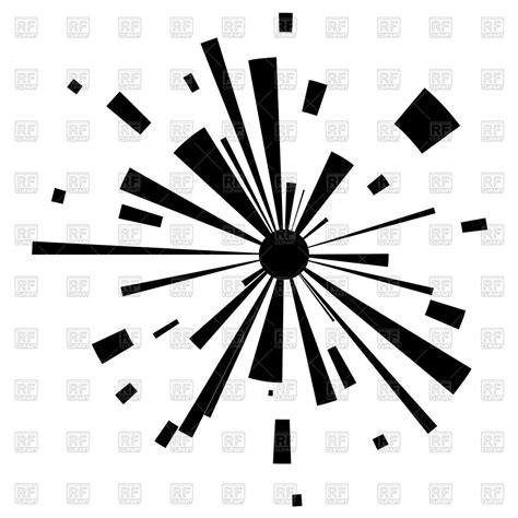 clipart royalty free abstract explosion royalty free vector clip image