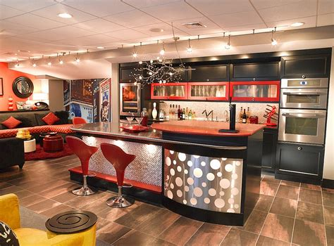 Kitchen Design Cincinnati 27 Basement Bars That Bring Home The Good Times