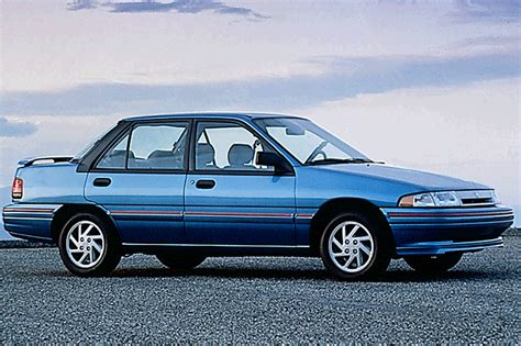 blue book used cars values 1992 mercury tracer instrument 1991 96 mercury tracer consumer guide auto