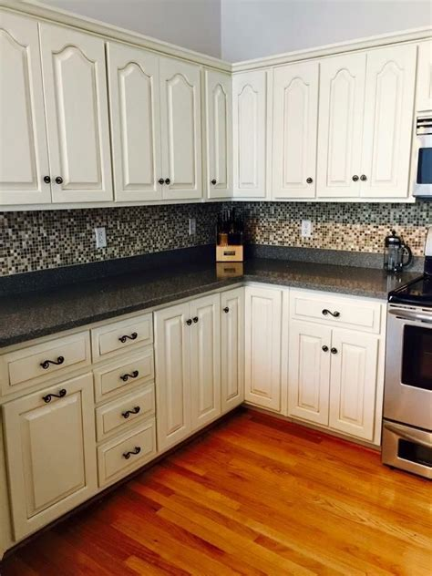 general finishes paint kitchen cabinets kitchen transformation in antique white paint