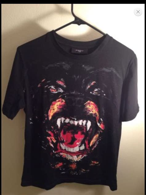 givenchy rottweiler t shirt for sale givenchy t shirt rottweiler ebay