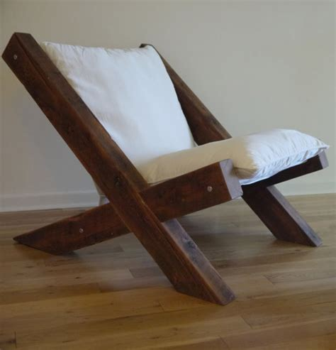 building a wooden lounge chair barn wood lounge chair reclaimed wood lounge chair fabric