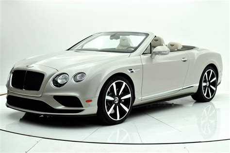 2017 white bentley convertible 2017 bentley continental gt v8 s convertible for sale