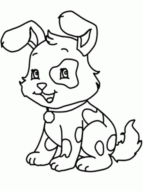 dog coloring pages for kids preschool and kindergarten