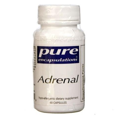 Adrenal Detox Supplements by Encapsulations Adrenal 60 Capsules Evitamins