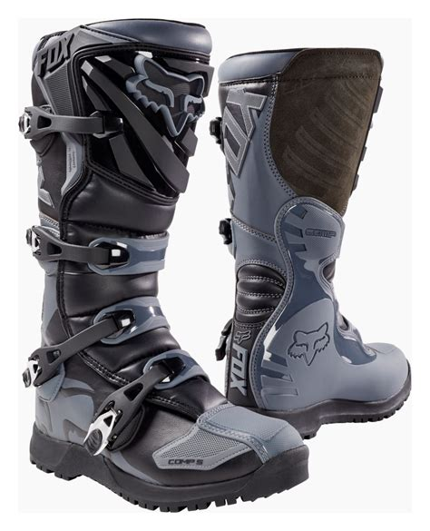 fox comp 5 motocross boots fox racing comp 5 offroad boots revzilla