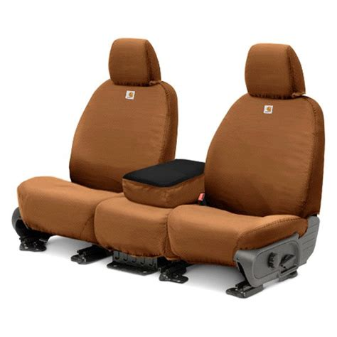 covercraft upholstery covercraft 174 ssc2487cabn seatsaver carhartt 1st row