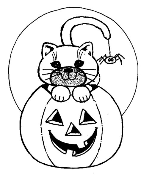 coloring pages of pumpkin for halloween halloween pumpkin cat coloring pages 1 purple kitty