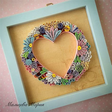 Mahar Quilling quilling valentines my quilling valentines and quilling