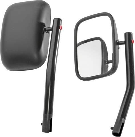 Jeep Mirrors American Outlaw Blk00207 American Outlaw Black Mirrors