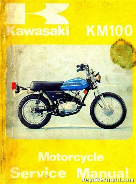 1978 1981 Kawasaki Km100 Motorcycle Repair Service Manual