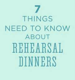 Creative rehearsal dinner ideas brides