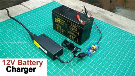 Big Power Led 12 Kit Include Charger Batery F970 how to make a 12 volt battery charger