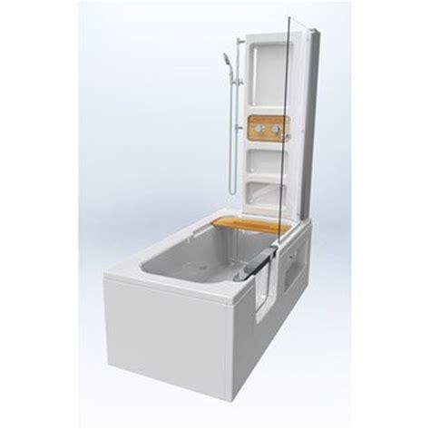 salle de bain gain de place 1690 baignoire 224 porte baignoire salle de bains au