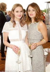 kara and hannah tointon look stunning in ladylike dresses