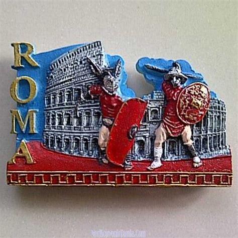 Tempelan Untuk Kulkas Souvenir Romania jual souvenir tempelan kulkas gladiator colosseo roma italia